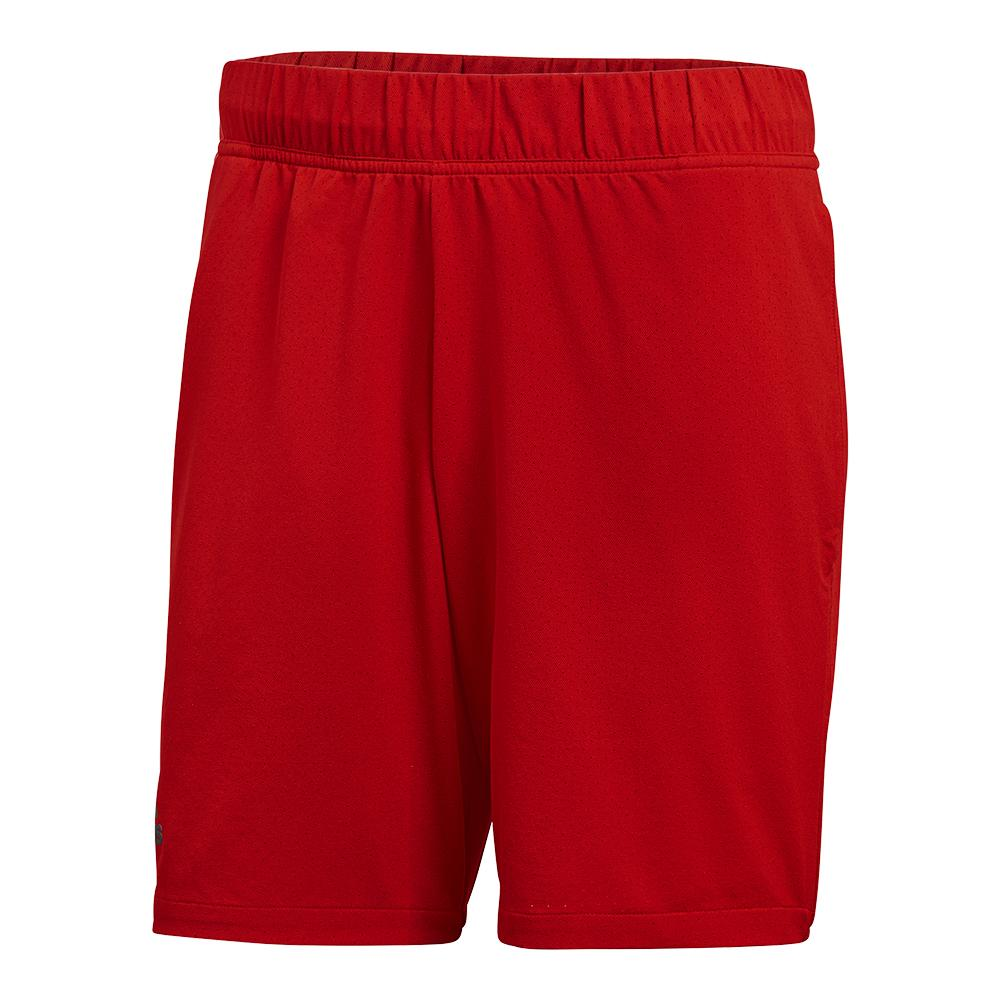 Men's Barricade Tennis Short Scarlet