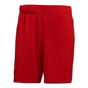 Men`s Barricade Tennis Short Scarlet