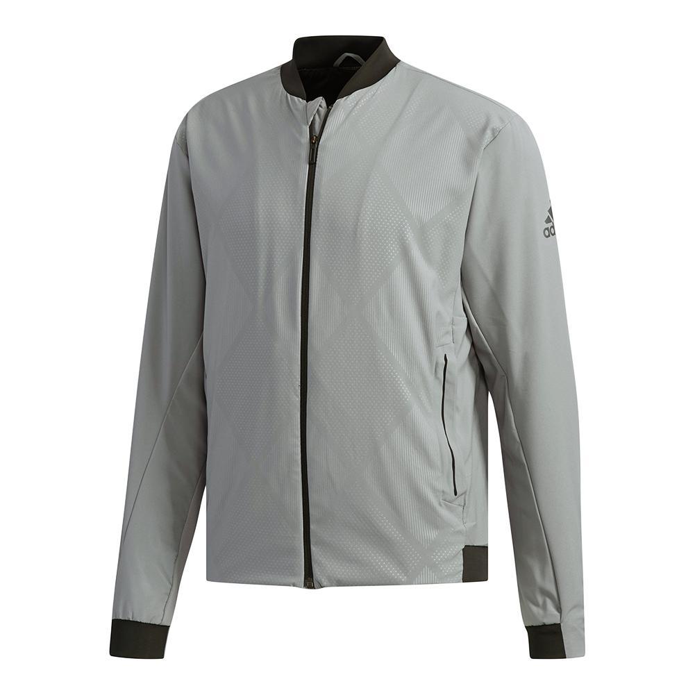 Men's Barricade Tennis Jacket Gray