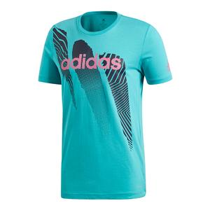 Men`s Seasonal Tennis Tee Hi-Res Aqua