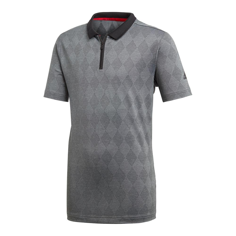 Boys ` Barricade Tennis Polo Black