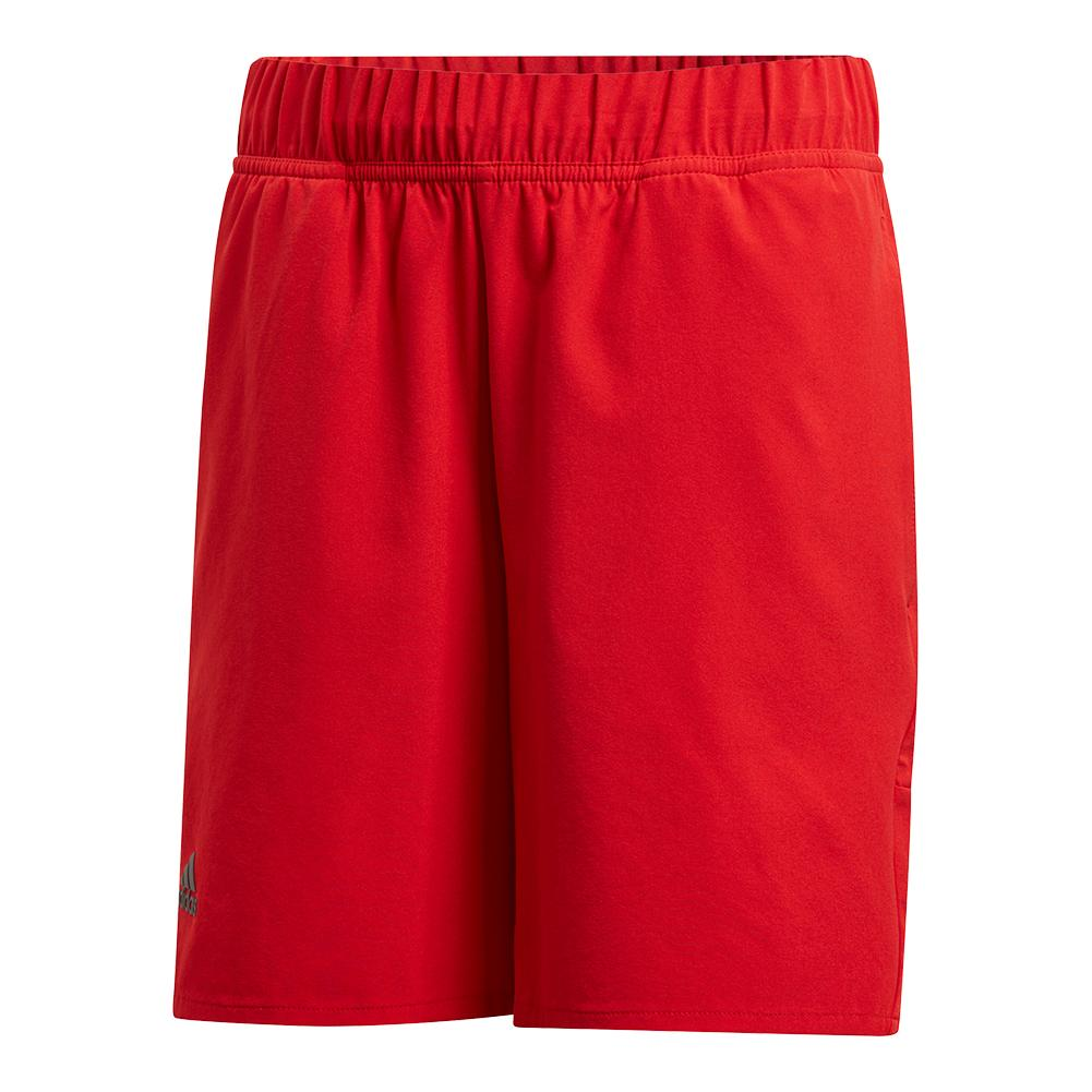Boys ` Barricade Tennis Short Scarlet