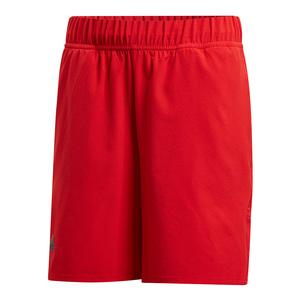 Boys` Barricade Tennis Short Scarlet