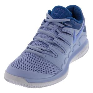 Women`s Zoom Vapor X Tennis Shoes Royal Tint and Monarch Purple
