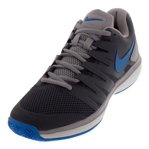 Men`s Air Zoom Prestige Tennis Shoes Gridiron and Photo Blue