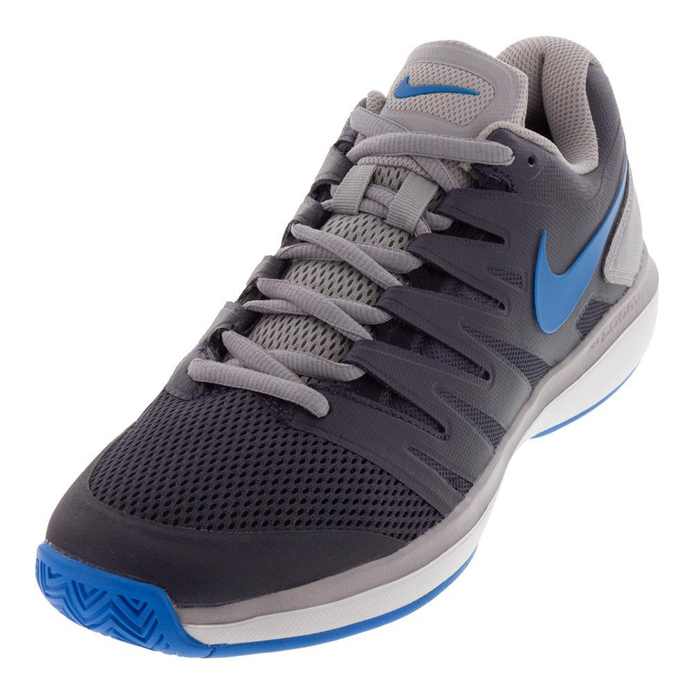 Juniors ` Air Zoom Prestige Tennis Shoes Gridiron And Photo Blue