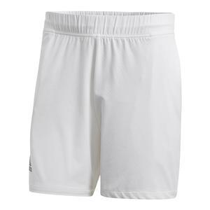 Men`s Barricade Tennis Short White