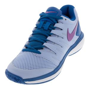 Women`s Air Zoom Prestige Tennis Shoes Royal Tint and Monarch Purple