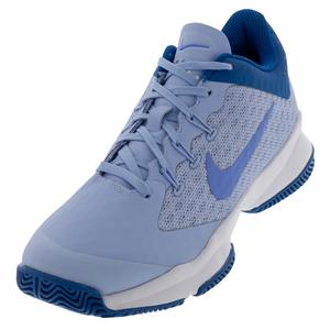 Women`s Air Zoom Ultra Tennis Shoes Royal Tint and Monarch Purple