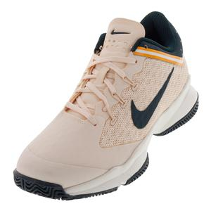 Women`s Air Zoom Ultra Tennis Shoes Guava Ice and Midnight Spruce