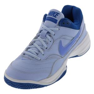 Women`s Court Lite Tennis Shoes Royal Tint and Monarch Purple