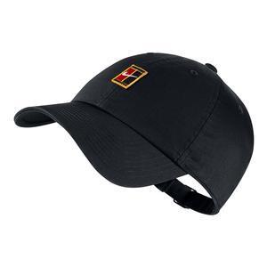 Men`s H86 Court Logo Tennis Cap Black