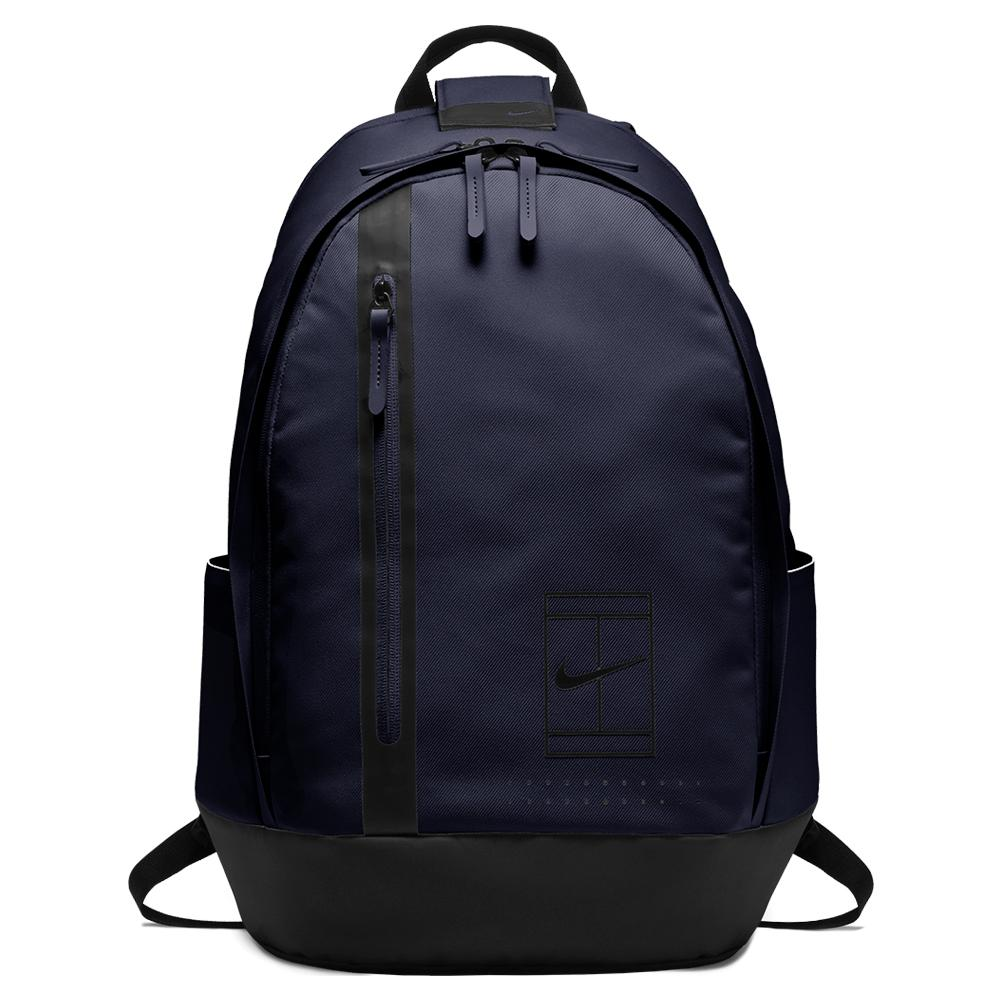 Court Advantage Tennis Backpack Blackened Blue And Black