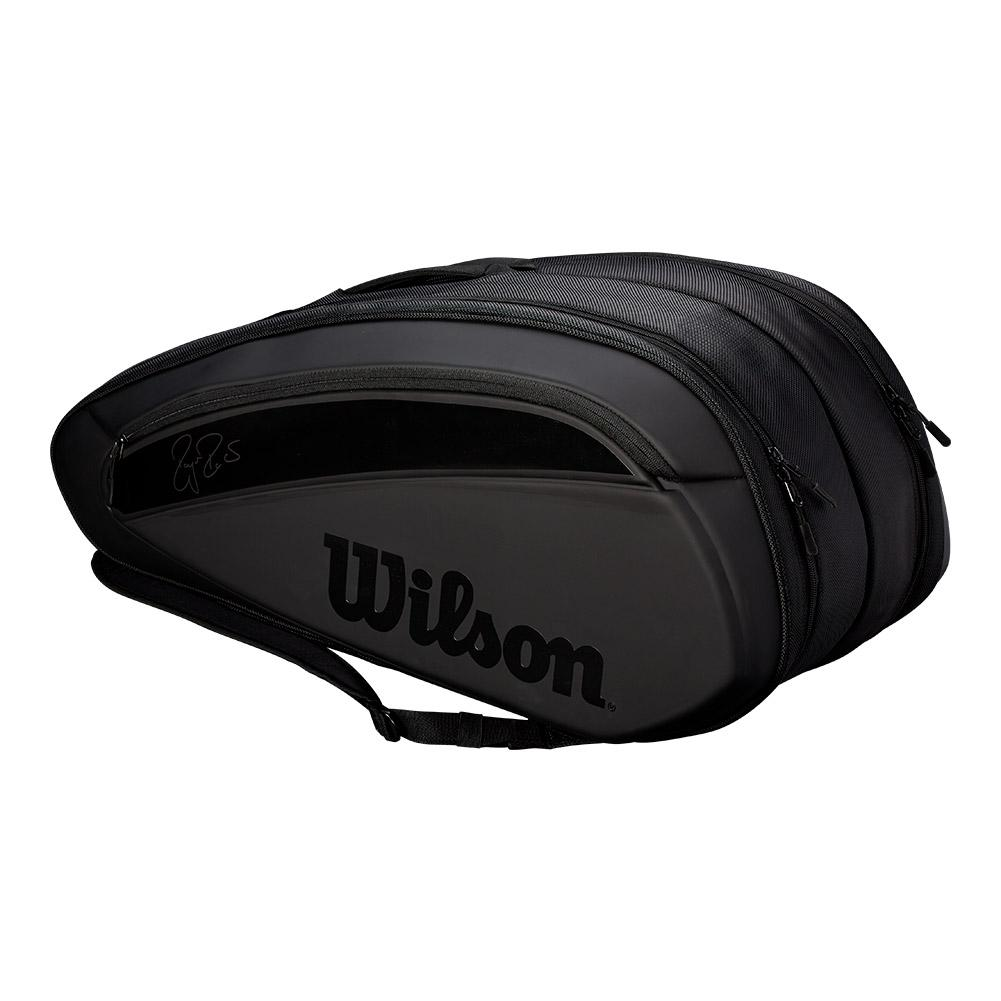 Federer Dna 12 Pack Tennis Bag Black