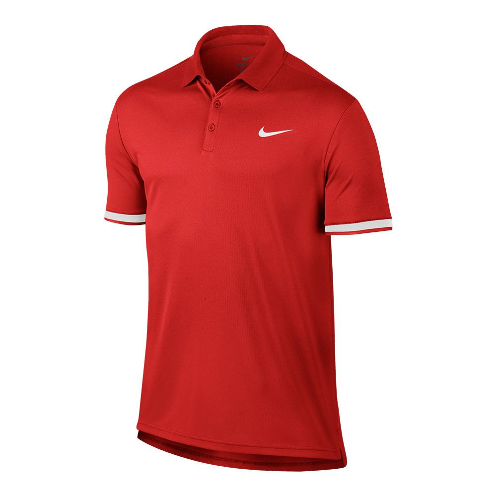 Men's Court Dry Team Tennis Polo