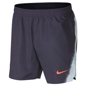 Men`s Rafa Court Flex Ace 7 Inch New York Tennis Short