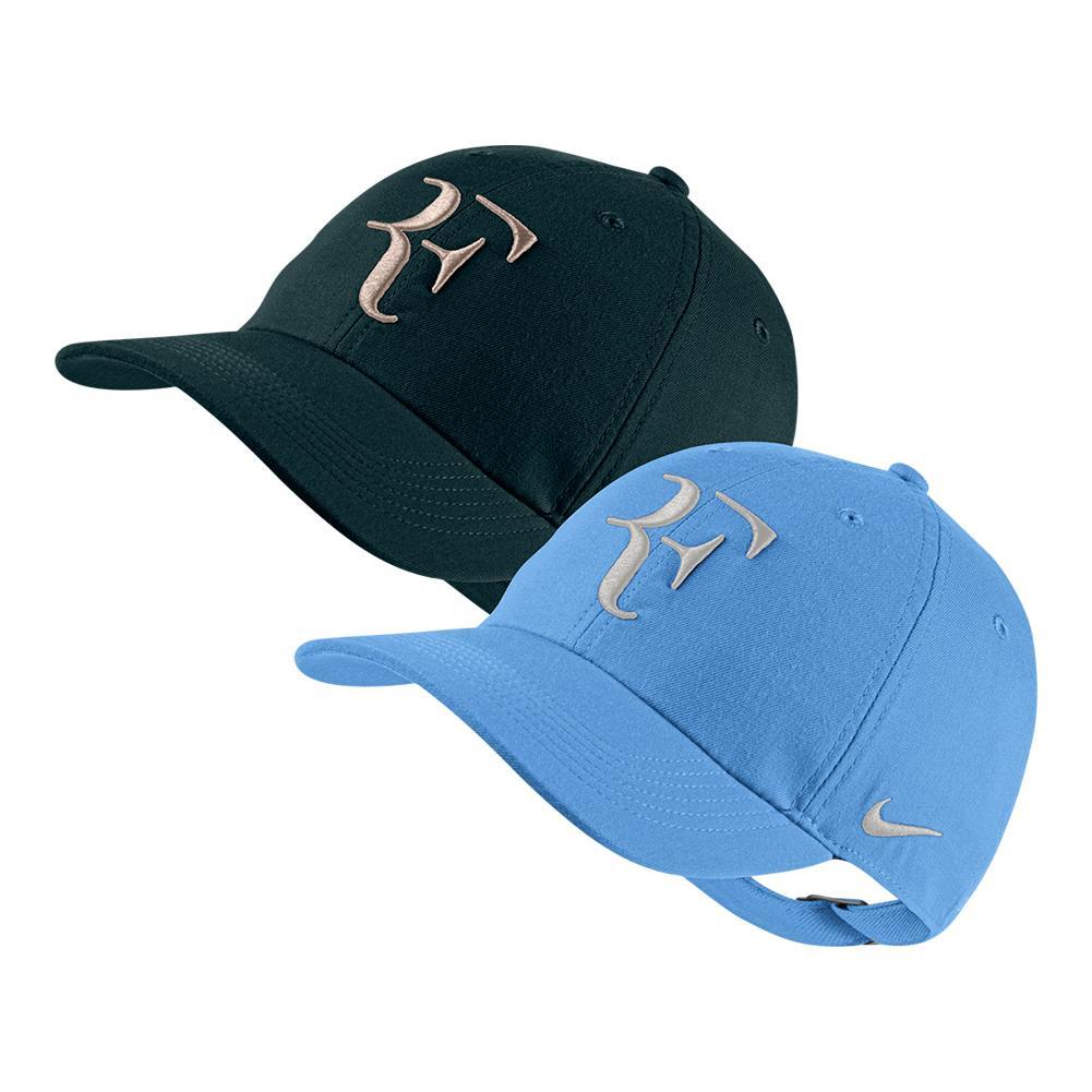 NIKE NIKE Men s Court Roger Federer Aerobill H86 Heritage Tennis Cap 34b5ff46128
