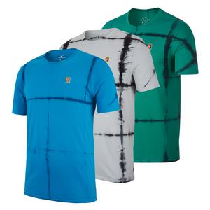 Men`s Court Tie Dye Tennis Crew Tee