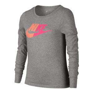 Girls` Long Sleeve Sports Top