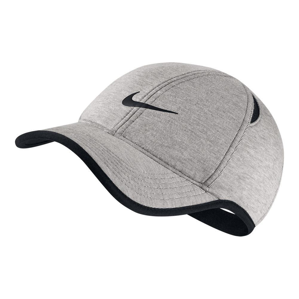 511fab0cc13104 Men`s Aerobill Featherlight Premium Tennis Cap 050_GRAY_HEATHER