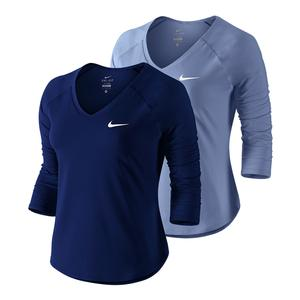 Women`s Court Pure 3/4 Sleeve Tennis Top