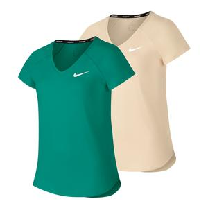 Girls` Court Pure Tennis Top
