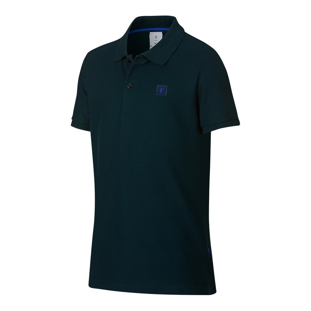Boys ` Roger Federer Essential Tennis Polo