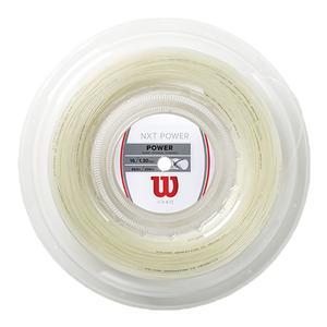 NXT Power 16 200M Tennis String Reel Natural