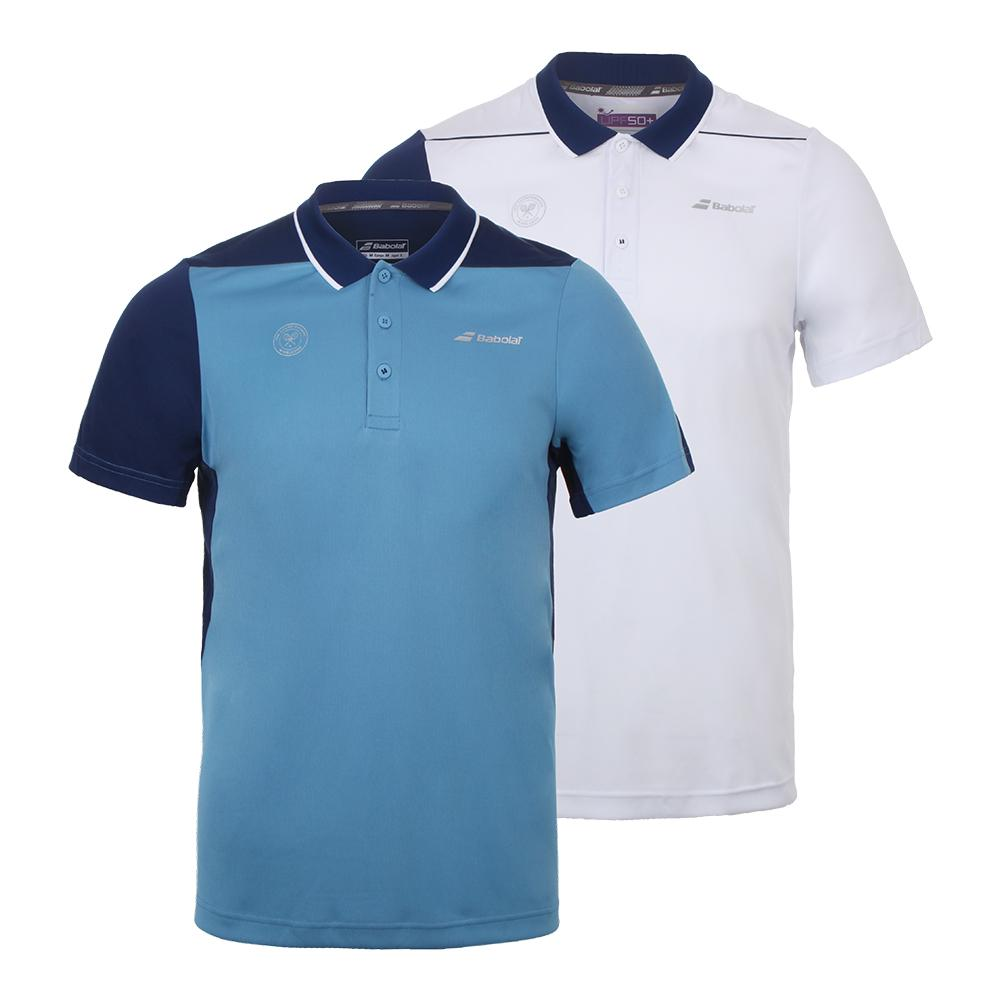 Babolat Mens Wimbledon Performance Tennis Polo