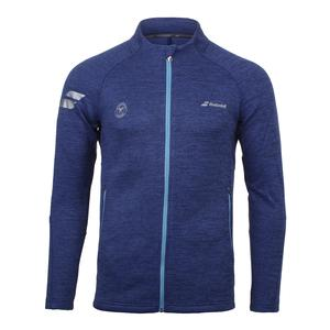 Men`s Wimbledon Performance Tennis Jacket Estate Blue Heather