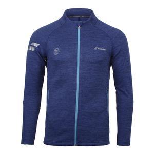 Men`s Wimbledon Performance Tennis Jacket Estate Blue Heather