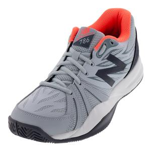 Women`s 786v2 B Width Tennis Shoes Light Cyclone and Dragonfly