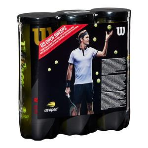 US Open Promo Regular Duty Tennis Ball 3 Pack