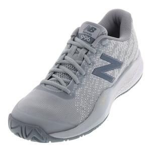 Women`s 996v3 D Width Tennis Shoes Light Cyclone and White