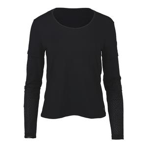 Women`s Rapture Tennis Shirt Black