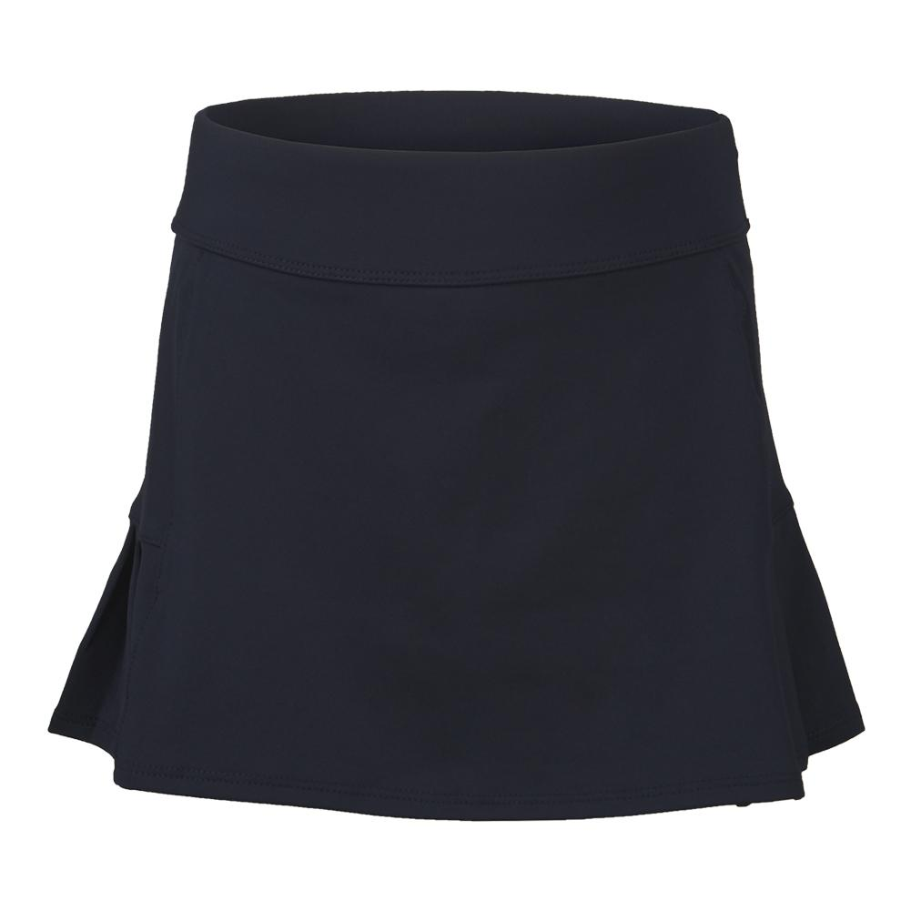 Girls ` Pleated Back Tennis Skort Peacoat