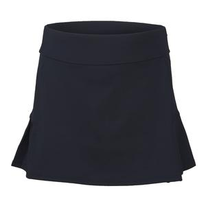 Girls` Pleated Back Tennis Skort Peacoat