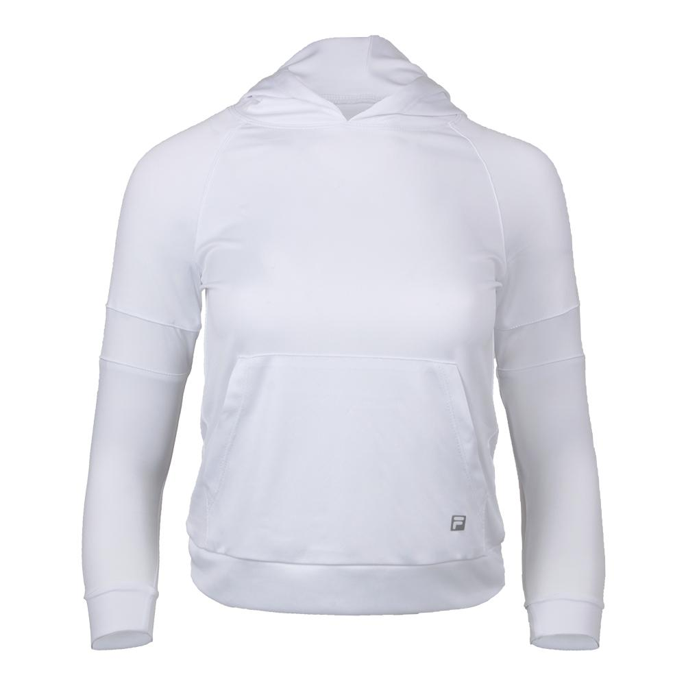 Girls ` Foundations Tennis Hoodie White