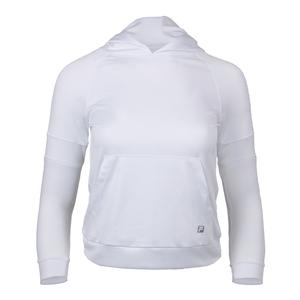 Girls` Foundations Tennis Hoodie White