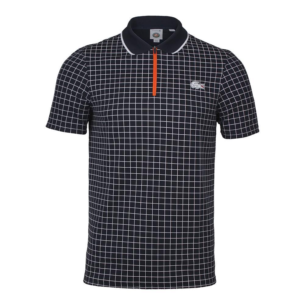Men's Pique Ultra Dry Micro Check Tennis Polo