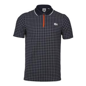 Men`s Pique Ultra Dry Micro Check Tennis Polo