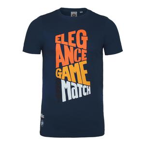 Men`s Game Set Match Graphic Tennis Top