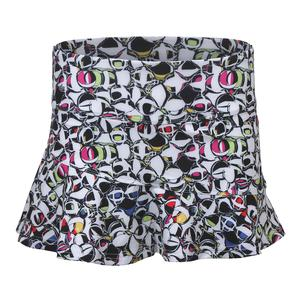 Women`s Pop Art 13 Inch Tennis Skort Print
