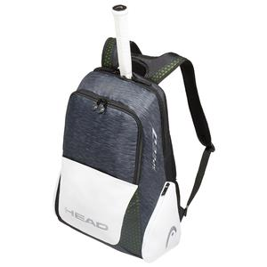Djokovic Tennis Backpack Black and White