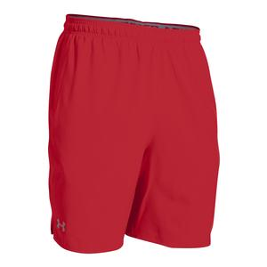 Men`s Qualifier Woven Short Red