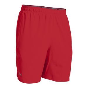 Men`s Qualifier Woven Short Red