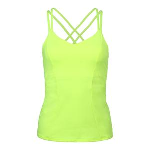 Women`s Outta Sight Tennis Cami Neon Yellow