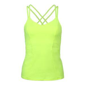 Women`s Outta Sight Tennis Cami Neon Yellow