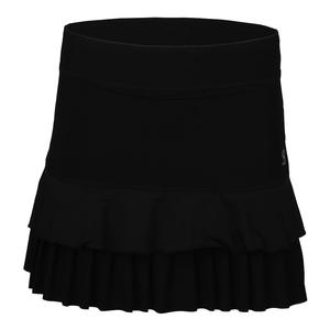 Women`s Launch 14 Inch Tennis Skort Black