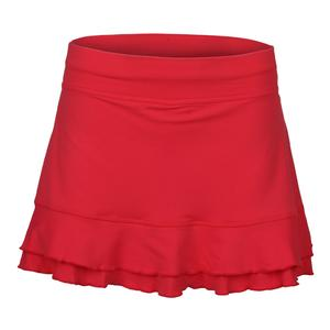 Women`s Backspin II 13 Inch Tennis Skort Coral